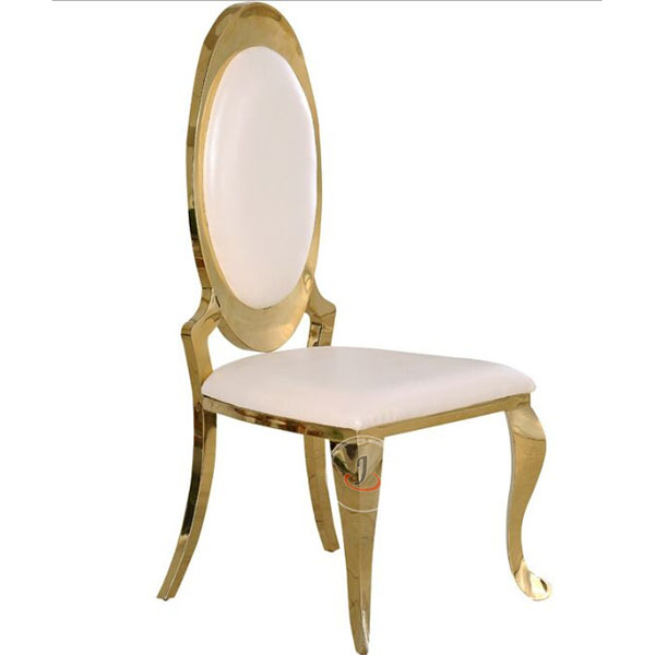 Discount wholesale Church Chair Furniture For Sale - Luxury Stainless Steel Chair For Wedding SF-SS07 – Jiangchang Furniture