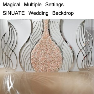 Magical Multiple Settings SINUATE Backdrop SF-BJ04