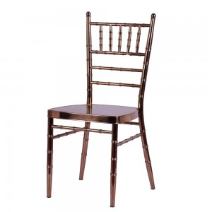 Stainless steel chiavari chair