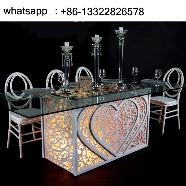 Rectangle Heart Table for Wedding SF-BJ02 Featured Image