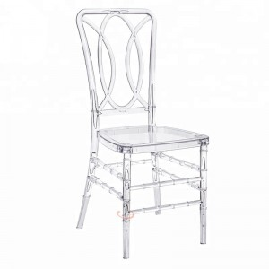 Super Purchasing for High Quality Church Pews For Sale - Plastic wedding chairs SF-RCC09 – Jiangchang Furniture