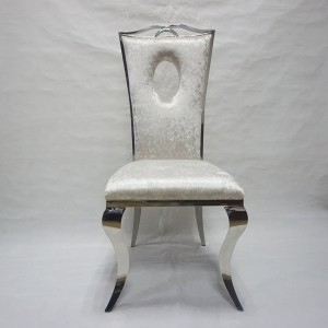 Hot-selling Chair For Church - Modern good design stainless steel frame event dining chairs SF-SS12 – Jiangchang Furniture