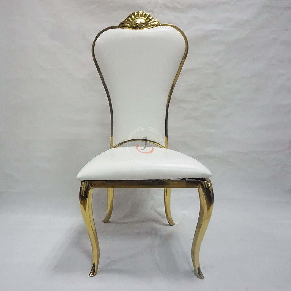 Super Lowest Price New Church Sanctuary Chairs - hot sale gold wedding banquet dining chair for event party SF-SS13 – Jiangchang Furniture
