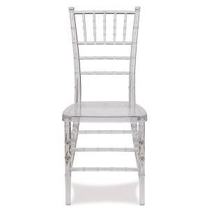 Resin chiavari chair SF-RCC01