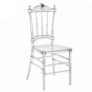 Resin wedding chair SF-RCC11