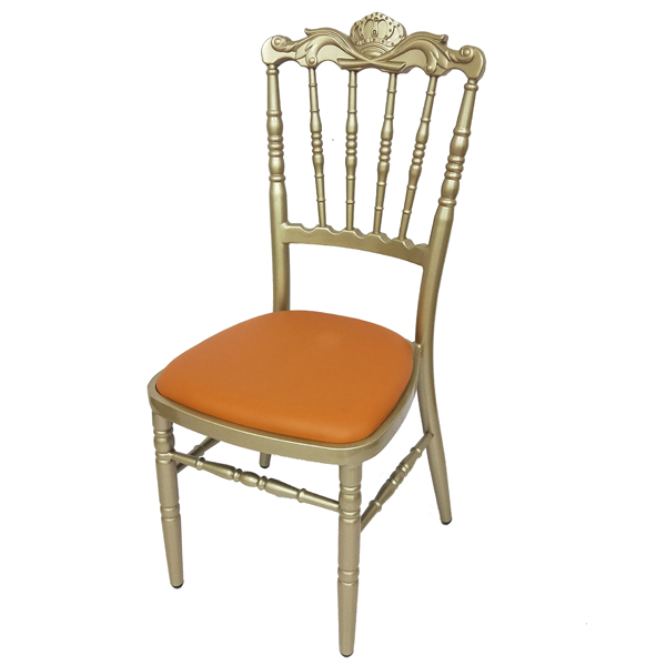 Gold napoleon chair SF-ZJ24 Featured Image