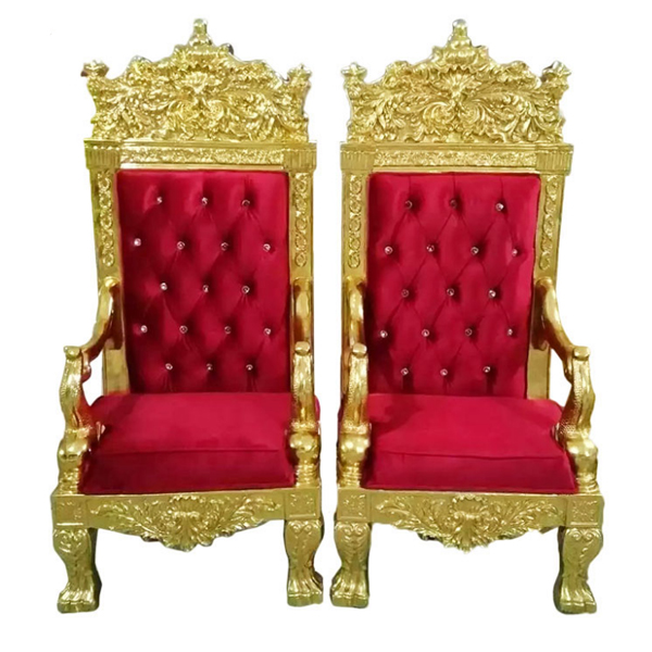 Queen throne chair rental  SF-K11 Featured Image