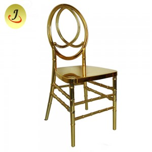 gold plated resin phoenix chair SF-RCC11