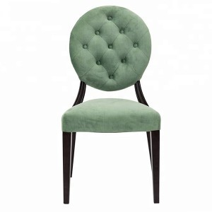 OEM/ODM Manufacturer Used Stackable Banquet Chairs - Velvet dining chair SF-FM20 – Jiangchang Furniture