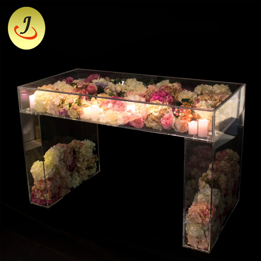 Wedding event furniture clear acrylic wedding table for sale (SF-PT01) Featured Image