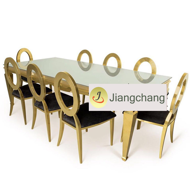 Bride-and-groom-rectangle-dining-table-for