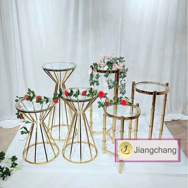 High-quality-wedding-outdoor-decor-gold-flower (1)